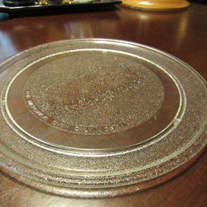Replacement Glass Frosted Microwave Turntable Tray